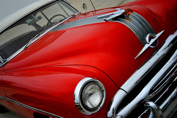 Photograph - Pontiac Chieftain 1954 Front by Nathan Little