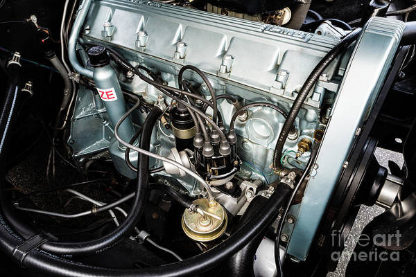 Photograph - Pontiac Firebird Engine by M G Whittingham