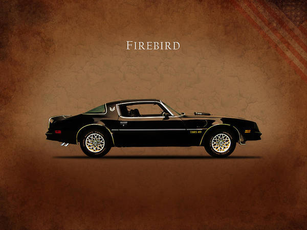 Muscle Photograph - Pontiac Firebird by Mark Rogan