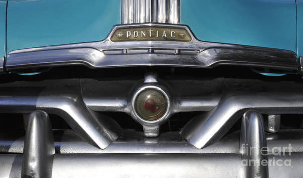 Antic Photograph - Pontiac Grill by David Lee Thompson