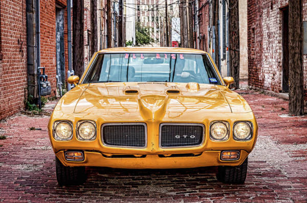 Photograph - Pontiac Gto American Muscle by Adam Reinhart