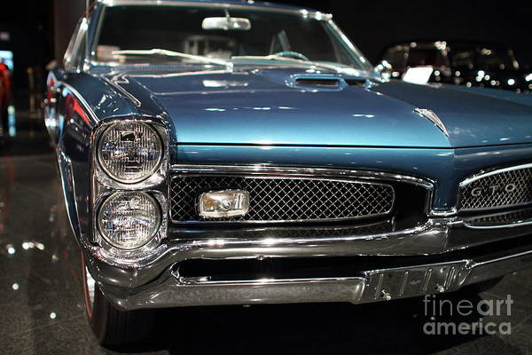 Photograph - Pontiac Gto by Wingsdomain Art and Photography