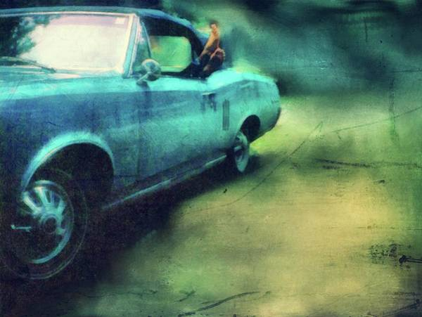 Photograph - Pontiac Lemans With Bare Feet by Michelle Calkins
