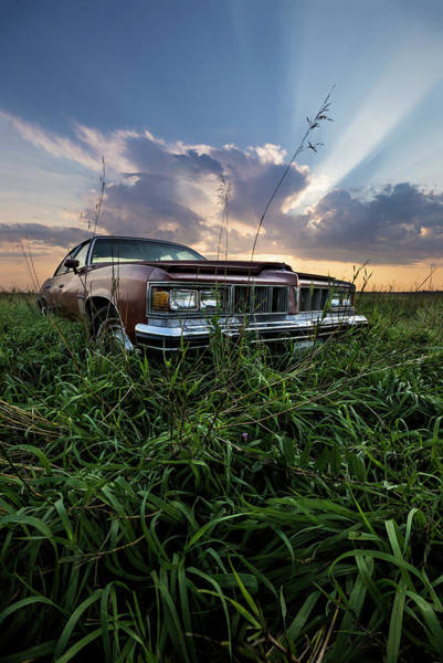 Wall Art - Photograph - Pontiac Sunset  by Aaron J Groen