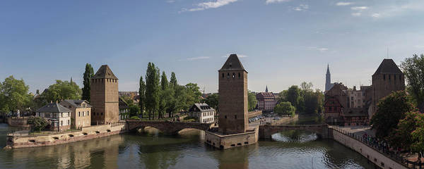 River Ill Wall Art - Photograph - Ponts Couverts Strasbourg France by Teresa Mucha