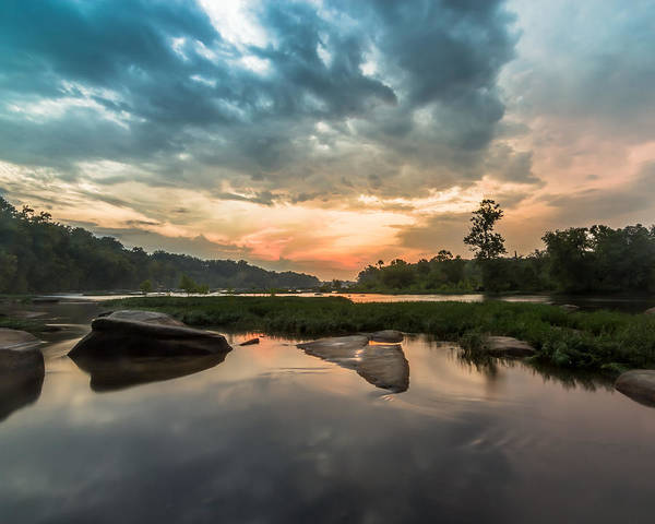 James River Photograph - Pony Pasture After The Storm by Chris Marcussen