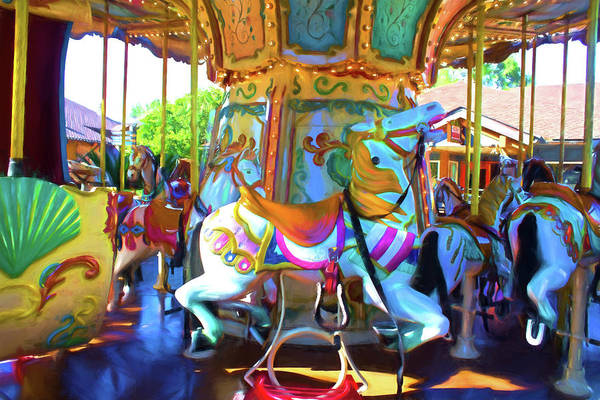 Photograph - Pony Series 08 by Carlos Diaz