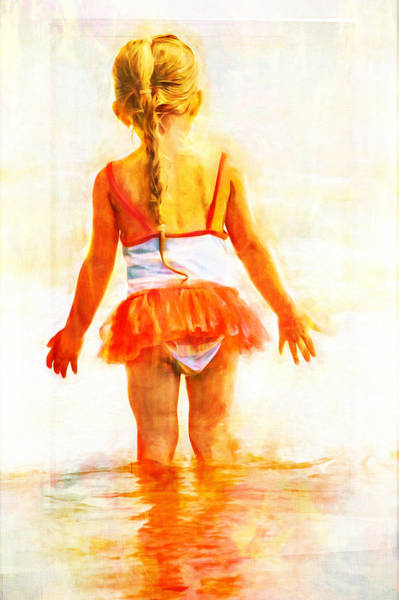 Photograph - Pony Tail In The Water by Alice Gipson