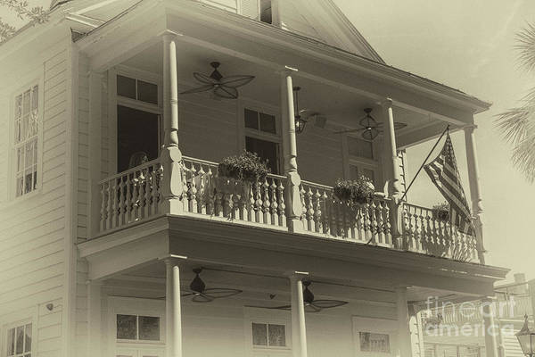 Dog Biscuit Photograph - Poogans Porch - Charleston by Dale Powell