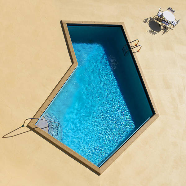 Modern Architecture Photograph - Pool Modern by Laura Fasulo
