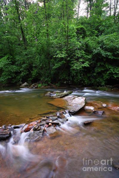 Photograph - Pools And Rocks Patapsco River Maryland by James Brunker
