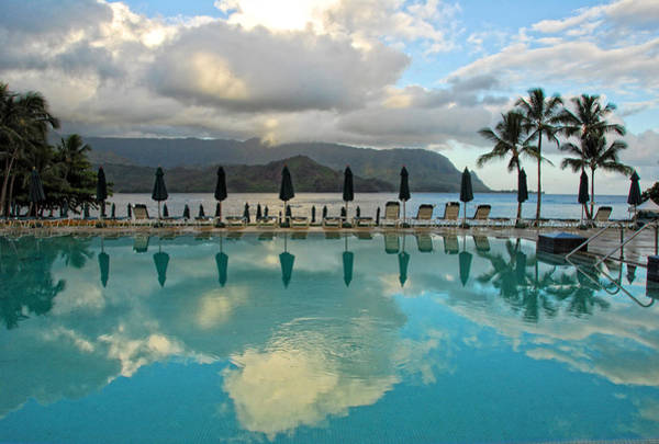 Photograph - Poolside Paradise by Lynn Bauer