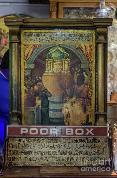 Photograph - Poor Box In The Church Of Nativity, Bethlehem by Perry Rodriguez