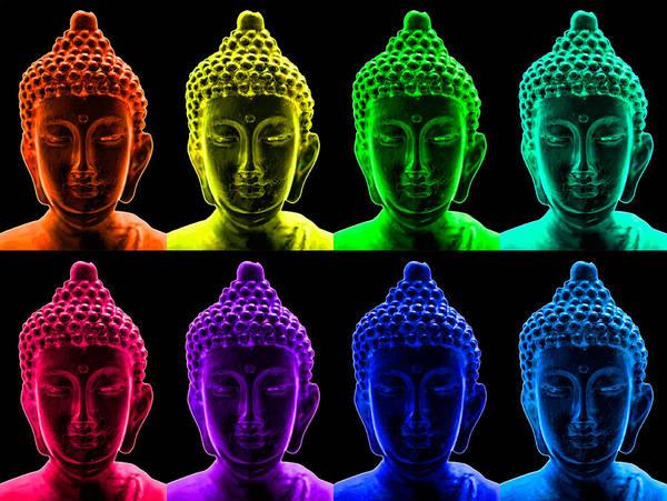 Photograph - Pop Art Buddha  by Fabrizio Troiani