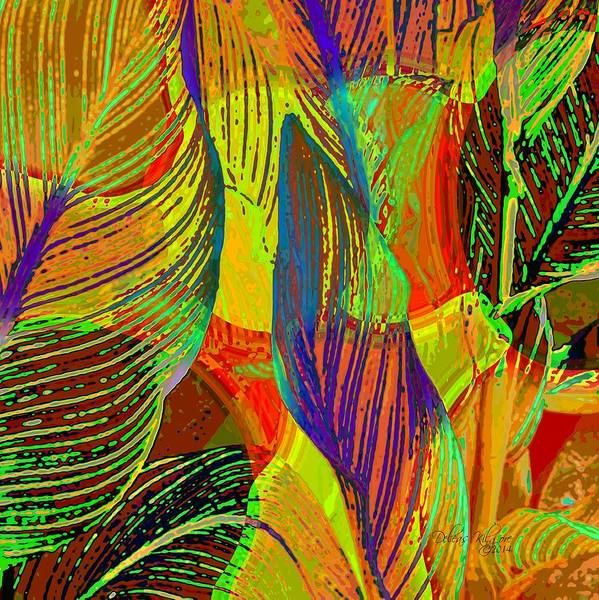 Digital Art - Pop Art Cannas by Deleas Kilgore