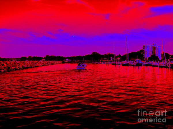 Photograph - Pop Art Dunkirk New York Harbor by Rose Santuci-Sofranko