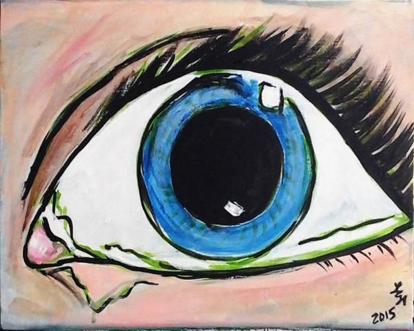 Pop Art Eye Art Print