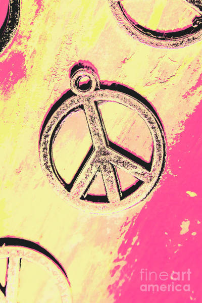 Symbol Photograph - Pop Art In Peace by Jorgo Photography - Wall Art Gallery