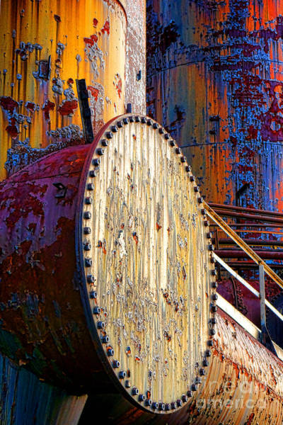 Wall Art - Photograph - Pop Art Industrial  by Olivier Le Queinec