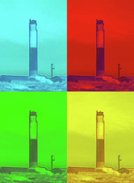 Photograph - Pop Art Lighthouse by Cynthia Guinn