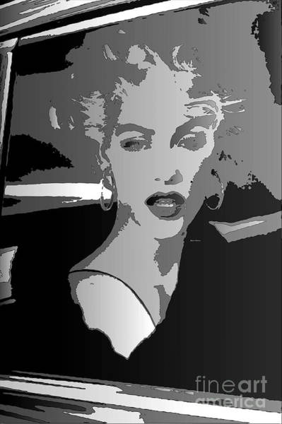 Digital Art - Pop Art Marilyn by Rafael Salazar