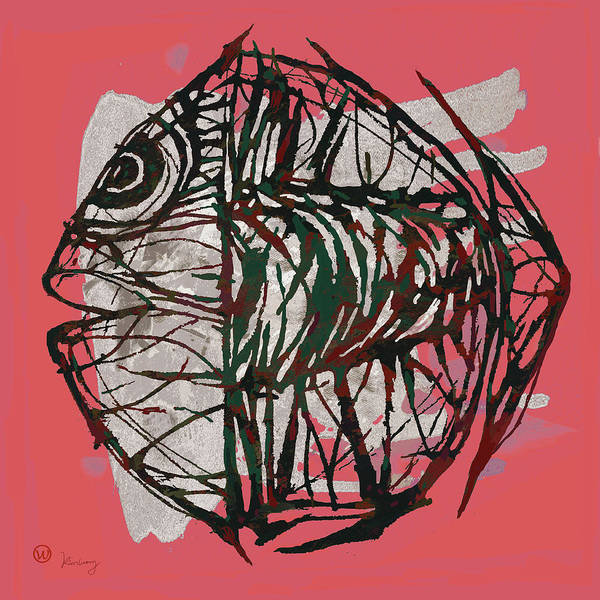 Wonderful Mixed Media - Pop Art - Tropical Fish Poster by Kim Wang