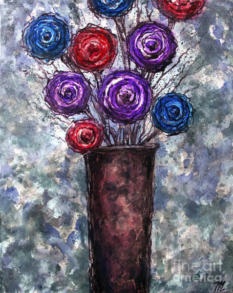 Painting - Pop Bouquet  by Tim Musick