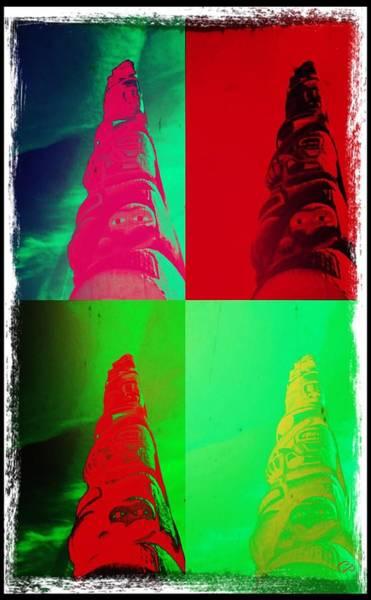 Photograph - Pop Goes The Totem Pole by Christine Paris