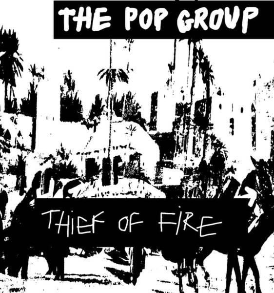 Sex Pistols Drawing - Pop Group Thief Of Fire 1979  by Enki Art