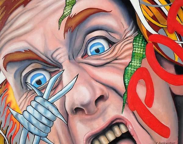 Iggy Pop Painting - Pop by John Kuhenbeaker