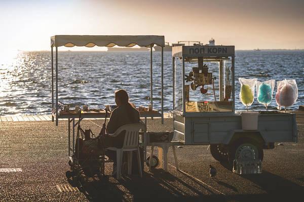 Photograph - Popcorn Kiosk by Sotiris Filippou