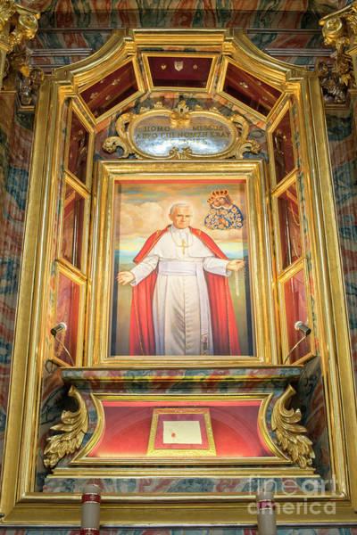 Adorn Photograph - Pope John Paul II by Juli Scalzi