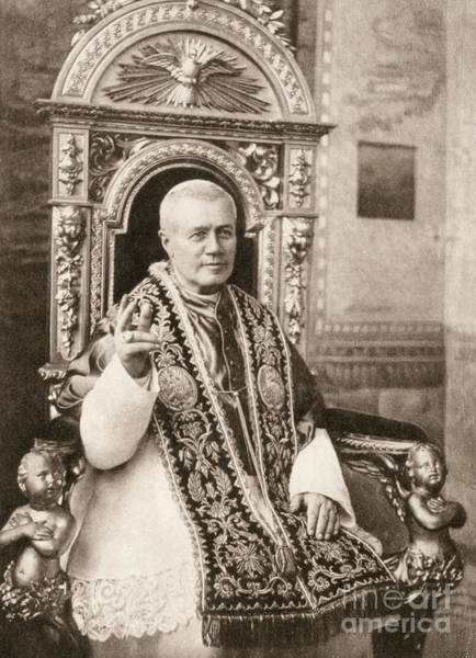 Drawing - Pope Pius X by Granger