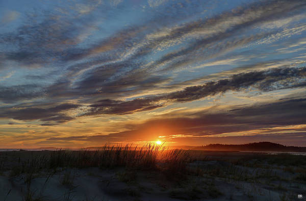 Photograph - Popham Sunset by John Meader