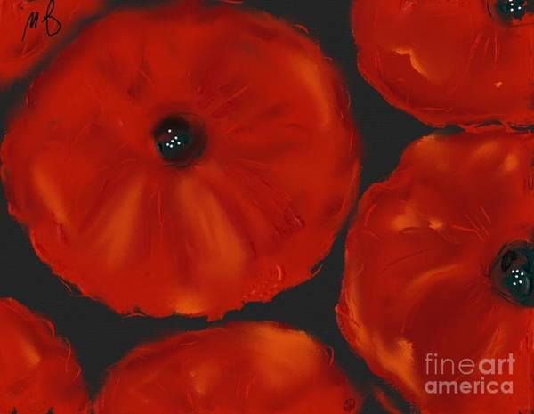 Painting - Poppies #1 by Jeanie Watson