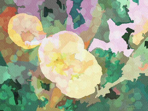 Digital Art - Poppies Abstract by Judi Suni Hall