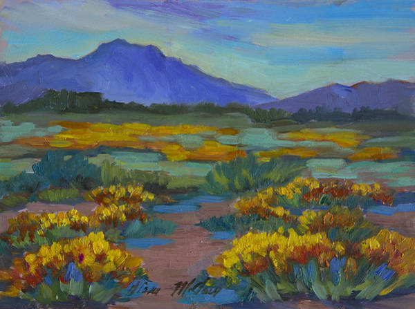 Wall Art - Painting - Poppies At San Carlos by Diane McClary