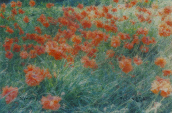 Painting - Poppies by Bill McEntee
