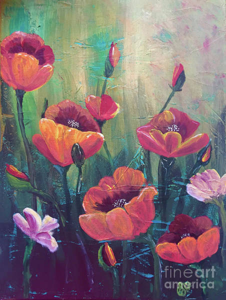 Painting - Poppies by Christine Dekkers