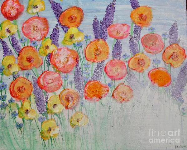 Painting - Poppies Galore by Kim Nelson