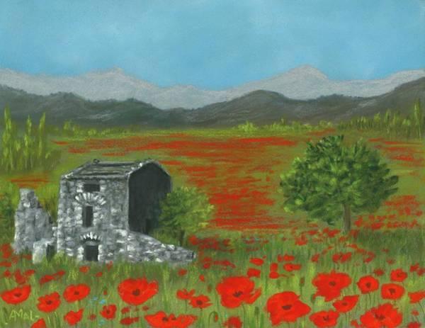 Painting - Poppies In Provence  by Anastasiya Malakhova