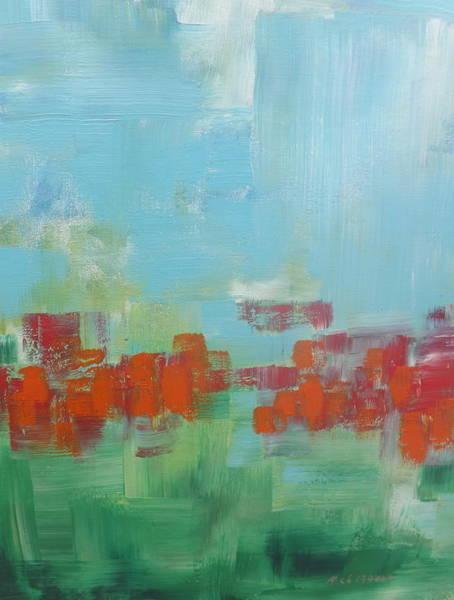 Wall Art - Painting - Poppies by Rich Mason