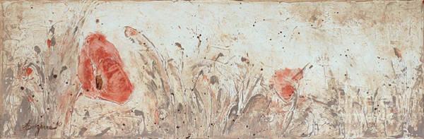 Wall Art - Painting - Poppy 1 by Aneta  Berghane