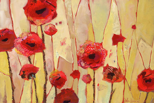 Painting - Poppy Crush by Shelli Walters
