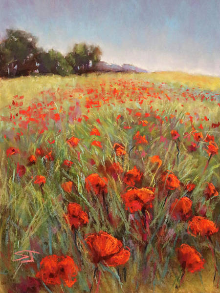 Painting - Poppy Dance by Susan Jenkins