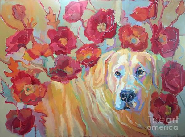 Wall Art - Painting - Poppy by Kimberly Santini