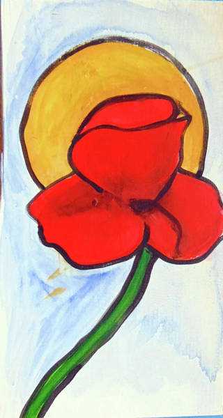 Painting - Poppy by Loretta Nash