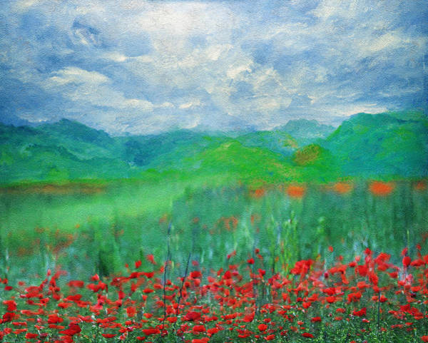 Poppy Meadows Art Print