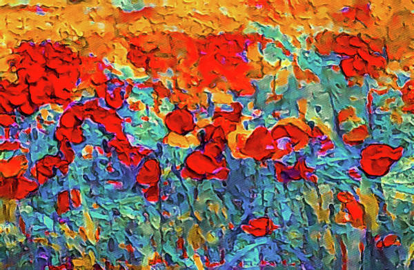 Painting - Poppy Paradisio by Susan Maxwell Schmidt