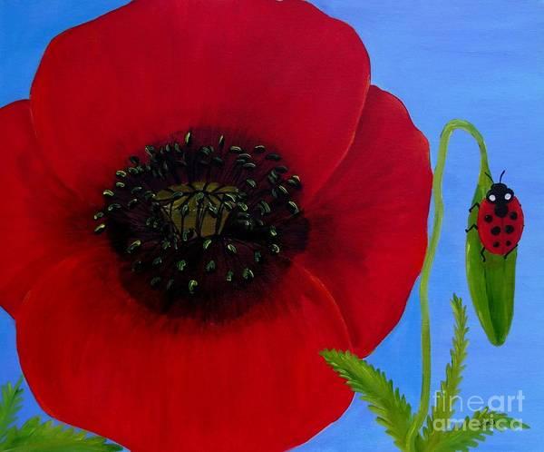 Painting - Poppy Power by Karen Jane Jones